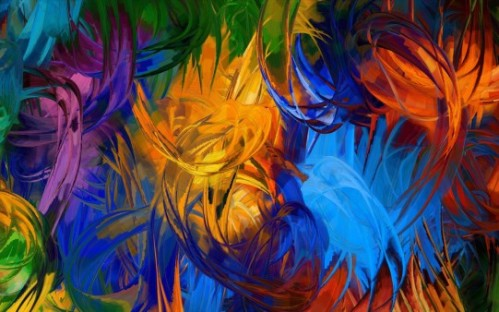 pinceladas colores